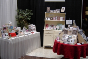 Display of products at PEI Craft, Art & Giftware Buyers' Market